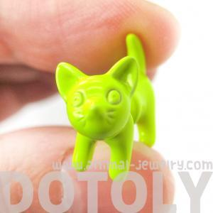 3D Fake Gauge Adorable Kitty Cat An..
